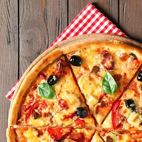 Горячая, аппетитная пицца