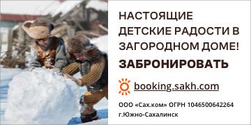 Booking.sakh.com. Настоящие детские радости в загородном доме!